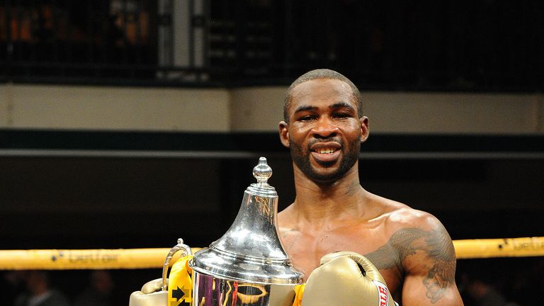 Larry Ekundayo: Claimed the Prizefighter title, now his sights are set on Glenn Foot (Pic Leighdawneyphotography.com)