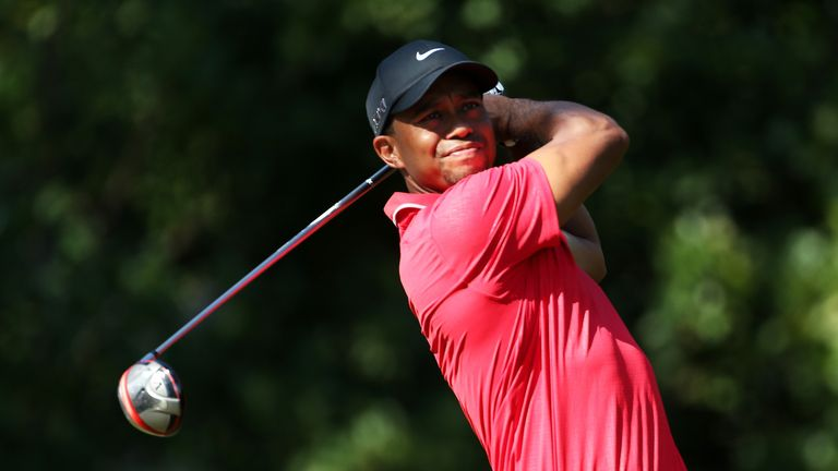 Tiger Woods: Rarely needed to unleash his driver at Sawgrass