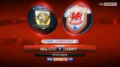 Hull 2-2 Cardiff