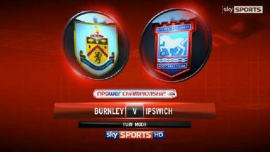 Burnley 2-0 Ipswich