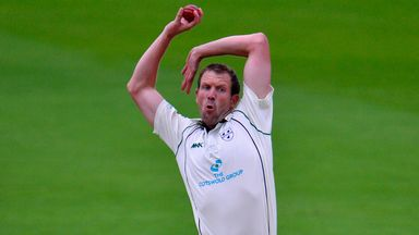 Alan Richardson: Worcestershire bowler took eight wickets in an innings for third time in career