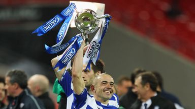 Unforgettable: Stephen Carr following Birmingham's League Cup win in 2011