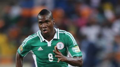 Brown Ideye: The Nigeria international is being watched by clubs around Europe