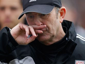 Pulis: Left Stoke after seven years in charge