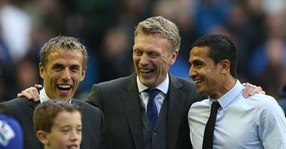 Moyes backing Nev the coach