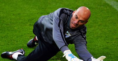 Willy Caballero: Malaga keeper says he turned down the chance to join Manchester City