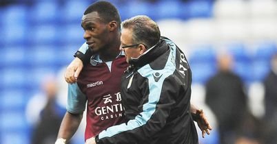 Christian Benteke: Back at Villa after summer break