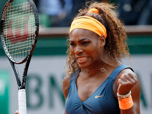 Serena Williams French Open 2013