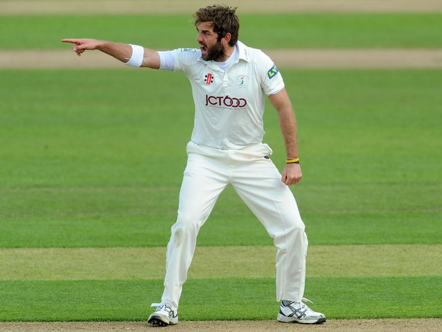Liam Plunkett: Impressed for Yorkshire
