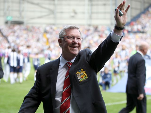 Sir Alex Ferguson: Signed off after a remarkable 5-5 draw