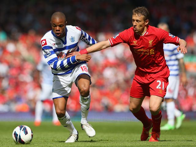 Loic Remy competes with Lucas