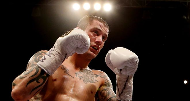 Ricky Burns: Eager to get rid of his feelings of 'crabbit'