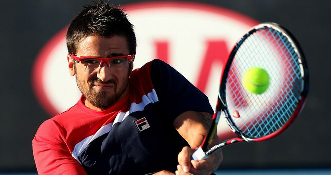Janko Tipsarevic: Retired with a heel injury just three games into match