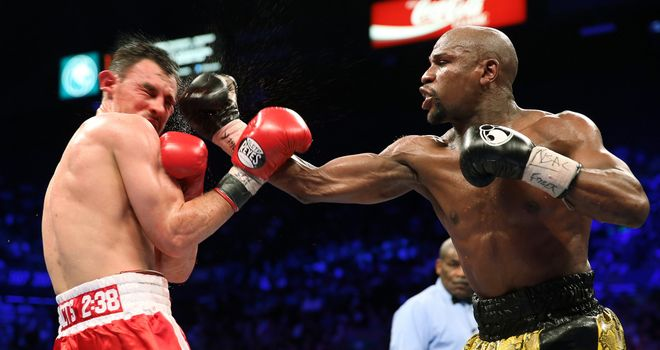 Floyd Mayweather: Convincing winner on all three cards