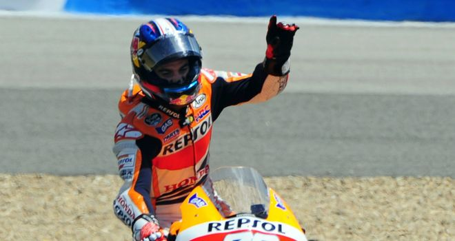 Dani Pedrosa: Spaniard claimed 23rd win of MotoGP career at home race