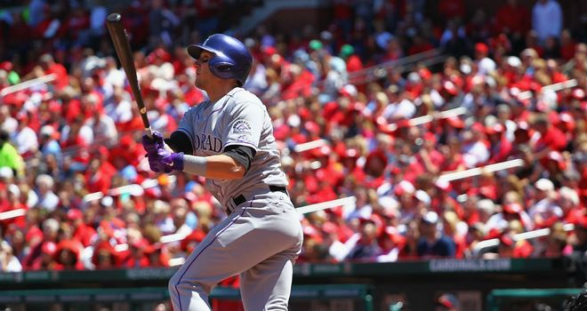 Troy Tulowitzki: Hit a three-run homer for Colorado