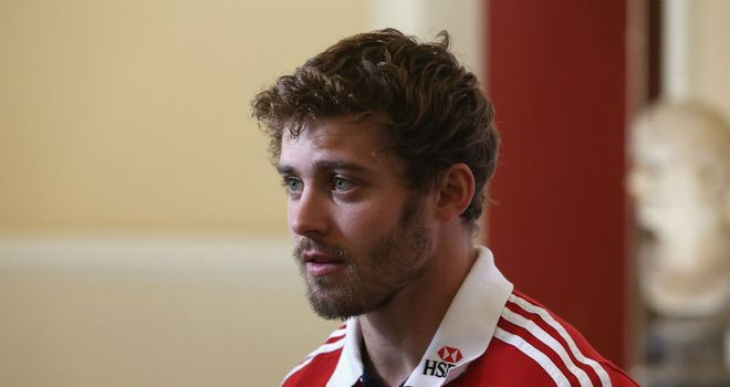 Leigh Halfpenny: Favourite to wear the no 15 shirt during the Test series against Australia