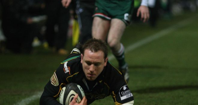 Paul Diggin: Has scored 62 tries in 148 appearances for Northampton