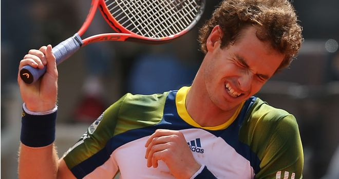 Andy Murray: Out of French Open