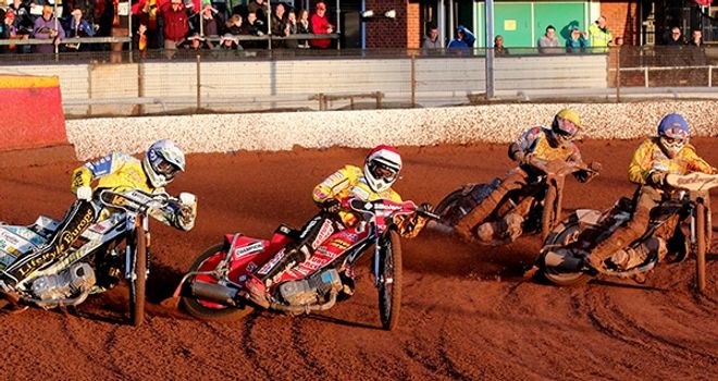 Birmingham Brummies: Sweeping to victory over Eastbourne (Pic credit Aaron Lupton)