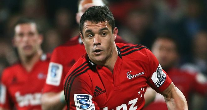 Dan Carter: Has suffered a cracked bone in his right hand