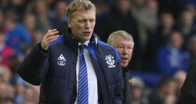 David Moyes: Departing Everton boss bound for Manchester United