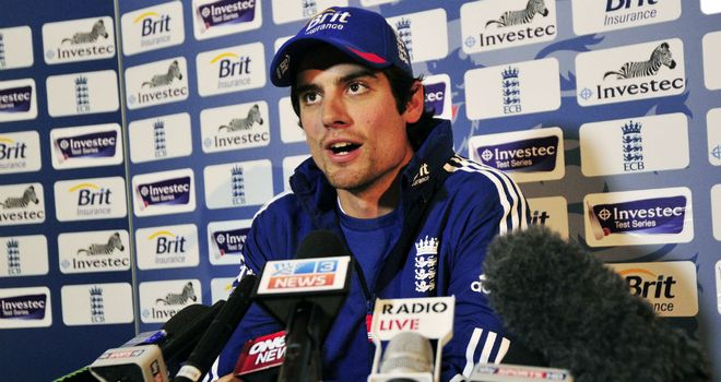 Alastair Cook: Will lead England during the two-Test series against New Zealand