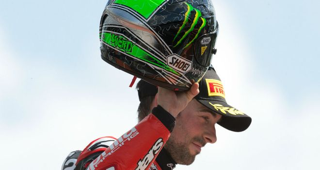 Eugene Laverty: Closed the gap on championship leader after win