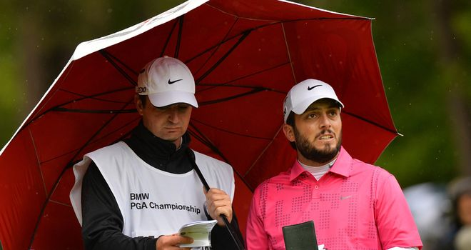 Francesco Molinari: made light of difficult conditions at Wentworth