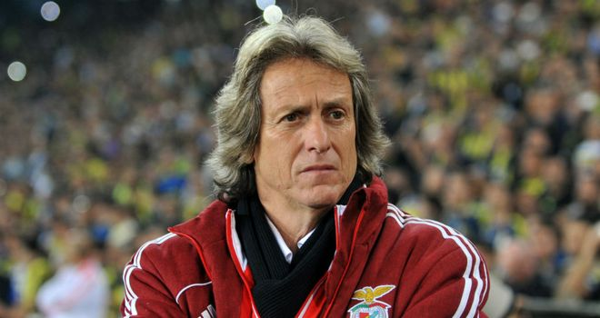 Jorge Jesus: Benfica boss saw his side defeat Anderlecht