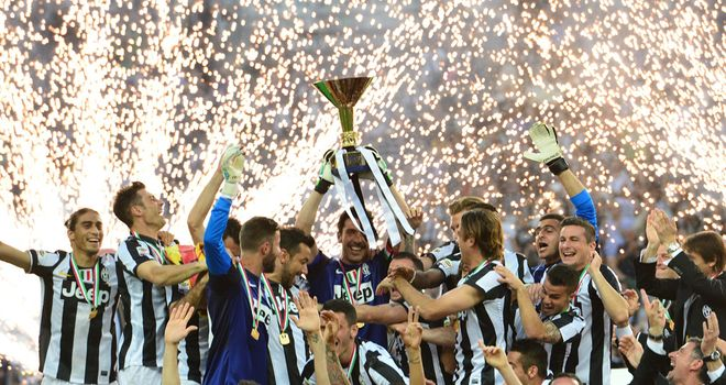 Juventus: Mauricio Isla lifted the Serie A title last season but is set for a move to Inter Milan, says his agent