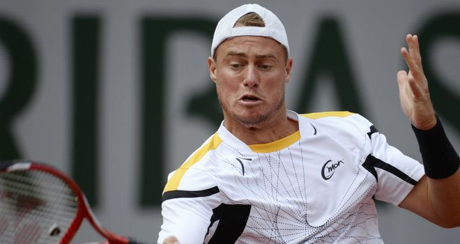 Lleyton Hewitt: Eased into the last eight at the tournament in Newport, Rhode Island