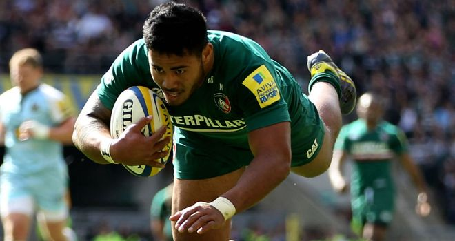 Tuilagi: needs some game time for Leicester