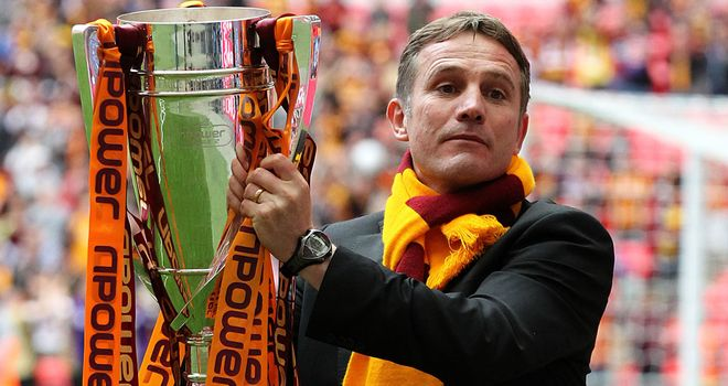 Manager Phil Parkinson has pledged his future to Bradford City | Football News