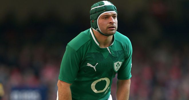 Rory Best: Suffered a fractured forearm against New Zealand
