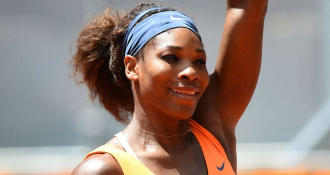 Serena Williams: Given scare by Anabel Medina Garrigues