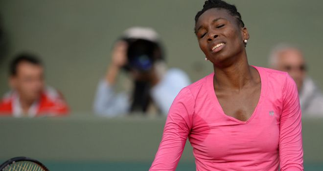 Venus Williams: The American world No 34 pulls out of Wimbledon