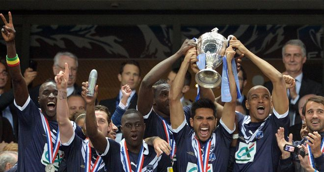 Bordeaux: Current Coupe de France holders