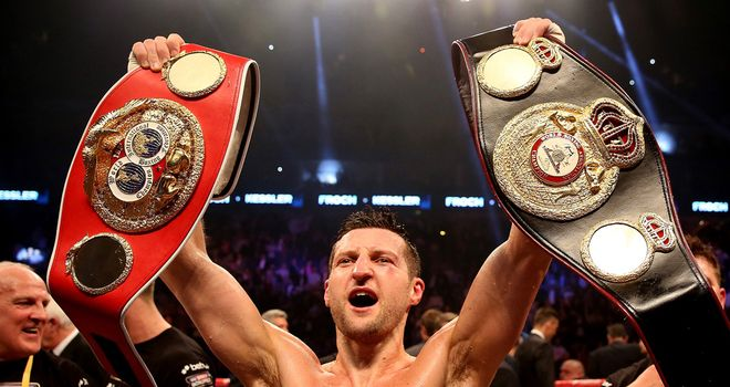 Carl Froch has the straps but Andre Ward holds the cards, says Jim Watt
