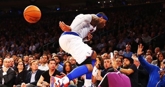 Carmelo Anthony: fit and firing for the Knicks