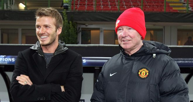 David Beckham: Says Sir Alex Ferguson was like a father figure