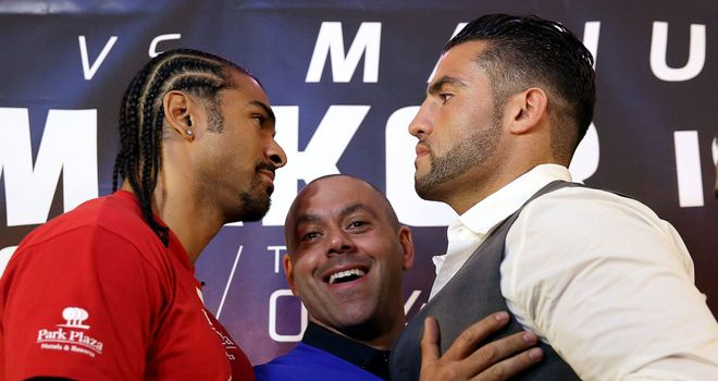 David Haye and Manuel Charr: Come face to face in Manchester