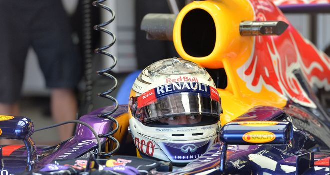Vettel: Just ninth fastest