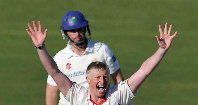 Glen Chapple: Celebrated a wicket for the 900th time