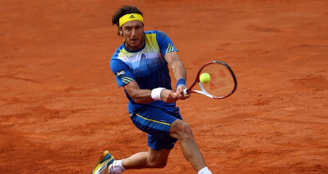 Juan Monaco: Beat Guido Pella in the semi-finals in Dusseldorf