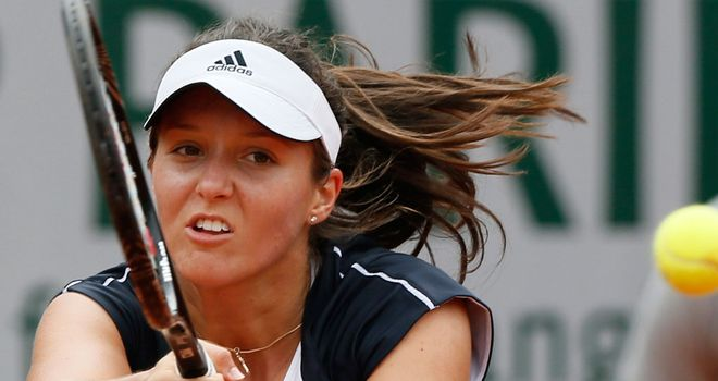 Laura Robson: Unable to deal with the power of Wozniacki