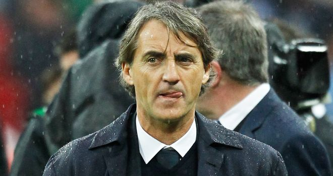 Roberto Mancini: Sacked a year to the day he won the Premier League title with Manchester City