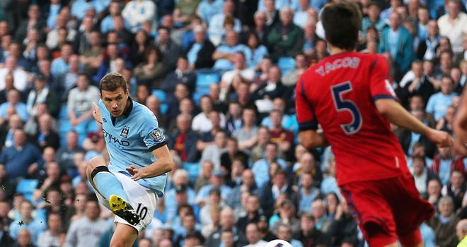 Edin Dzeko: Solitary strike settled a close encounter