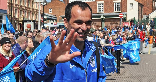 Roberto Martinez: May be poised to join Everton