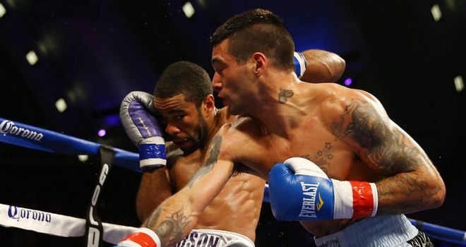Lucas Matthysse proved too powerful for Lamont Peterson